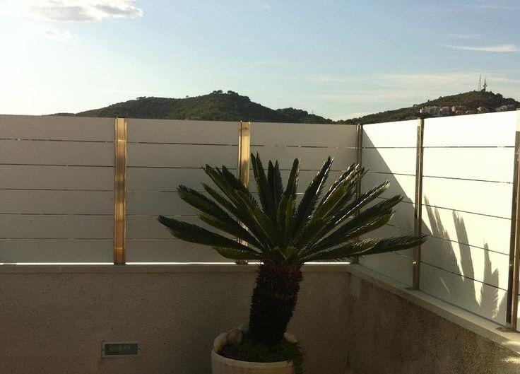 24 best vallas de compacto fenolico images on pinterest - Ocultacion vallas jardin ...