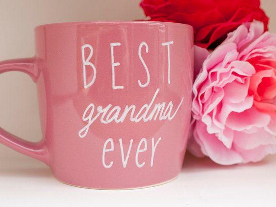 Best Grandma Ever Mug // Best Grandma Ever Coffee by AvonnieStudio