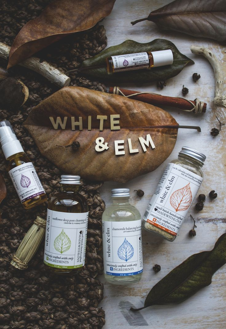 White & Elm organic skin care review | TLV Birdie Blog