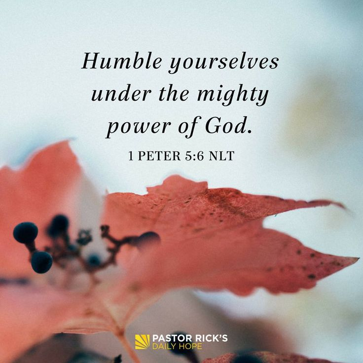 Humility doesn't mean thinking of yourself less. It means thinking of others and God more. #DailyHope