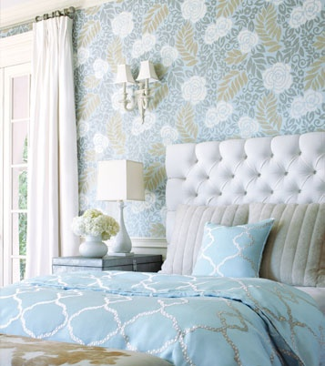 Thibaut Wallpaper   beautiful palette and texture and pattern   so elegant