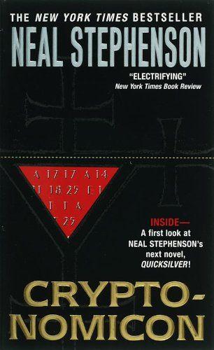 Cryptonomicon by Neal Stephenson,http://www.amazon.com/dp/0060512806/ref=cm_sw_r_pi_dp_j4yXsb09EDPX2YHF