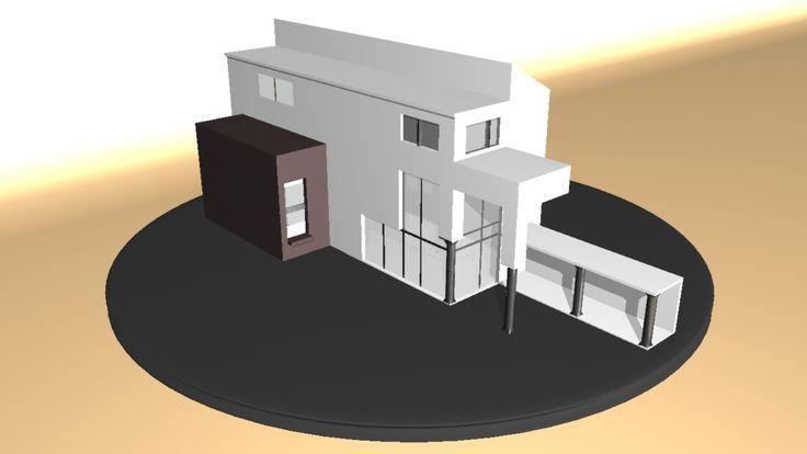 Casa Mi prime trabajo en 3D ;c