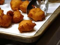 Sfineg - anchovy zeppoli ...don't recall ever trying this...but I would!