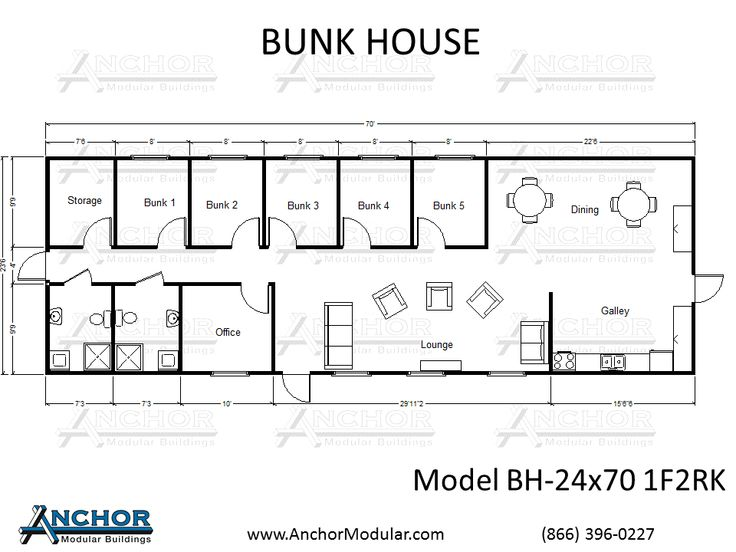 Questions about a modular building ask our experts ask for Bunk house plans