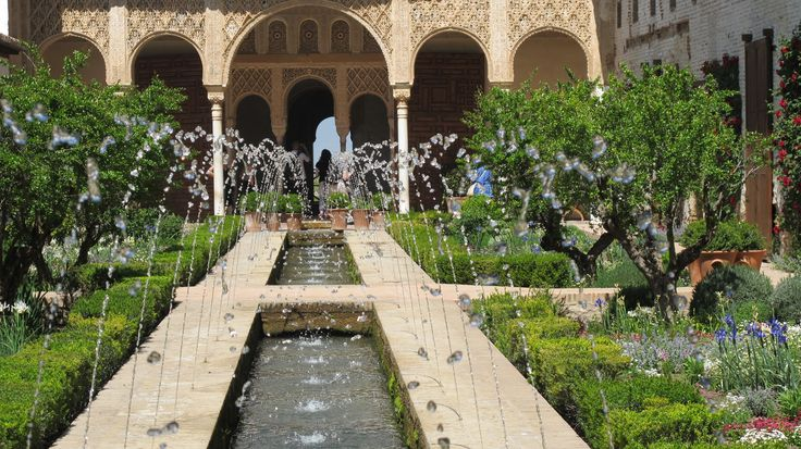 alhambra gardens - Google Search
