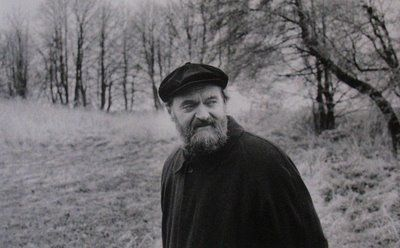 Arvo Part: I don't know him, but he is dear to me.  LOVE his music.