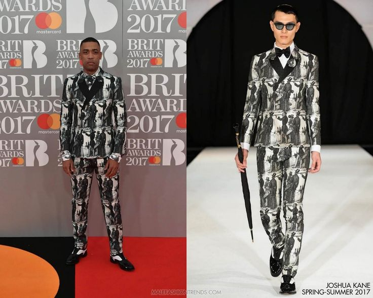 Miley en Joshua Kane - The BRIT Awards 2017