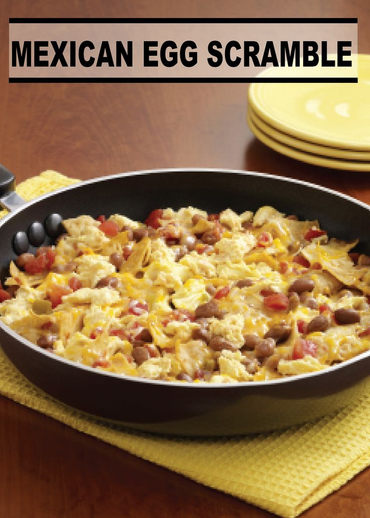 Let the savory aroma of this Mexican Egg Scramble fill your home this Sunday morning – PIN and SAVE this easy recipe!