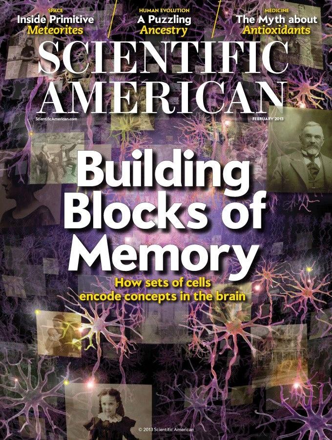 February 2013 Issue http://www.scientificamerican.com/sciammag/?contents=2013-02