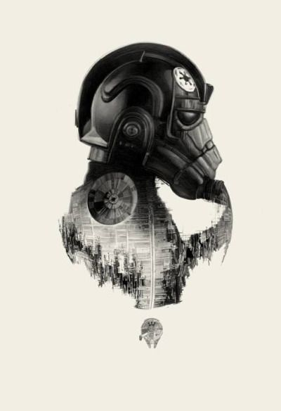 TIE Fighter by Greg Ruth