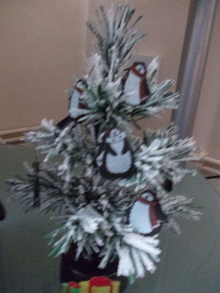 my mini penguin tree