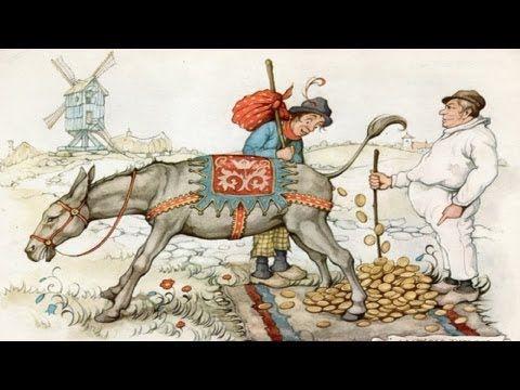 Sprookjesbos - Tafeltje dek je, ezeltje strek je en knuppel uit de zak (1966/1999) - YouTube Sprookjesbos