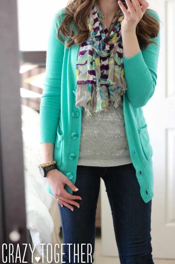 Love the color and style of the sweater. I like things a little longer to wear with skinny jeans and leggings. Donelle V-Neck Button Up Cardigan from Stitch Fix