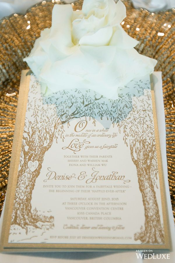 How Cute is this StoryBook Inspired Wedding Invitation? | Photography By: Life…