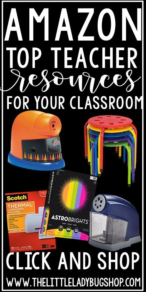 AmazonTeacherResourcesis possibly the best thing ever for teachers! We are often limited to time to shop for things we need for our classroom, and by the time we make it to the store we just do without. The great thing about shopping online is we are able to add things to our carts that we …