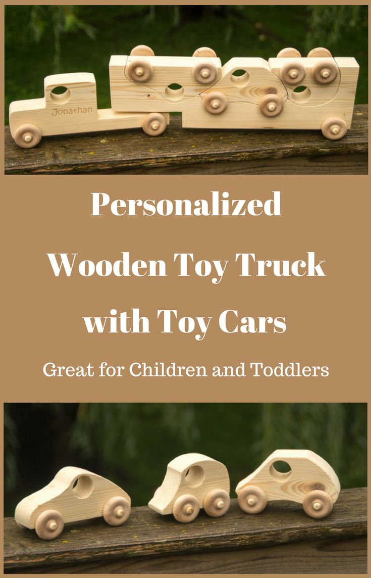 Wooden Toy Truck with Toy Cars - Personalized Toy - Semi Trailer Push Toy for Children and Toddlers - wooden toys | wooden toys for toddlers | Real Wooden Toys | wooden toy | Wooden Toys | toy cars | wooden semi trailer | NNT #ad #toys #woodentoys #toddlers #Personalized #toycar #woodentoytruck #childrentoys #kids #giftsforkids #giftideas #GIFTIDEA #gift #christmasgifts #birthdaygifts #boys