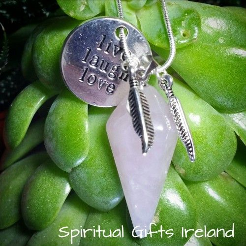 Cybele Rose Quartz Visit our store at www.spiritualgiftsireland.com  Follow Spiritual Gifts Ireland on www.facebook.com/spiritualgiftsireland www.instagram.com/spiritualgiftsireland www.etsy.com/shop/spiritualgiftireland We are also featured on Tumblr  💗The delicate pink hue of this Rose Quartz Pendant is perfect for healing emotional wounds and issues of the heart. 💟 It is the stone of unconditional love reminding you to love yourself first and foremost. It is only by giving love to…