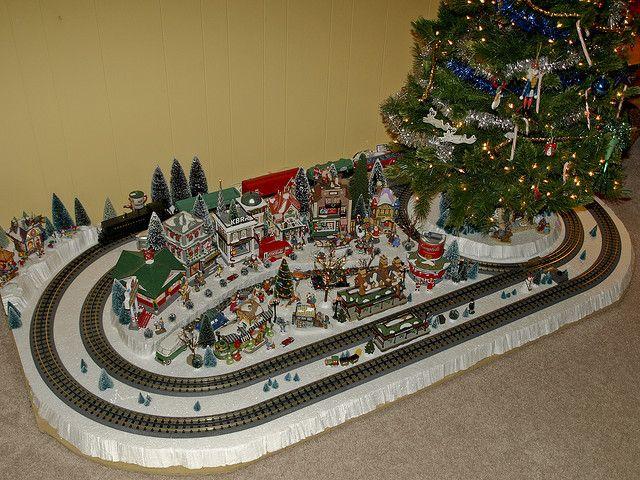 Christmas Tree Train Set Lionel