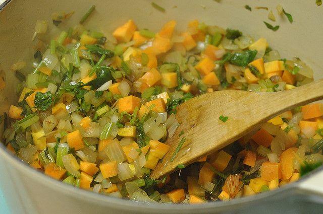 sauting veggies by Marisa | Food in Jars, via Flickr