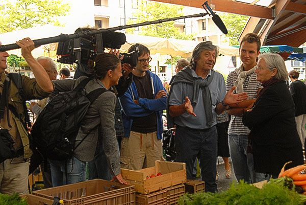 Au marché avec Danièle Mazet Delpeuch