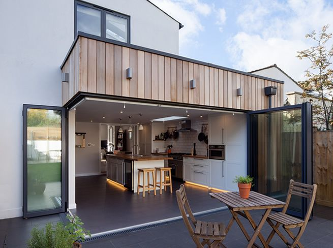 timber clad single extension - Google Search
