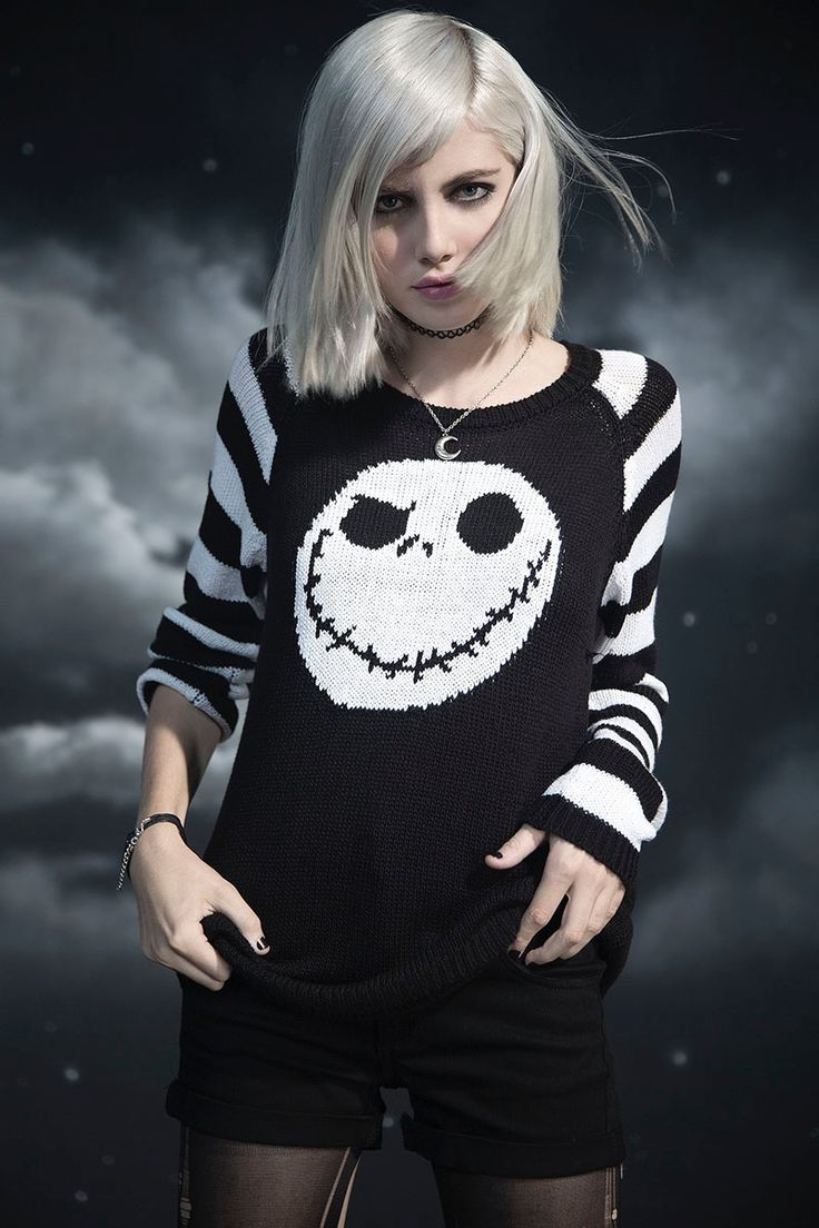 Hot Topic x Nightmare Before Christmas Jack Skellington Sweater