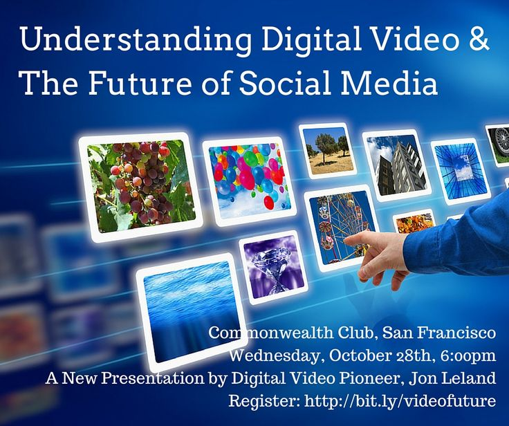 Live SF Event: The Future of Digital Video & Social Media at Commonwealth Club
