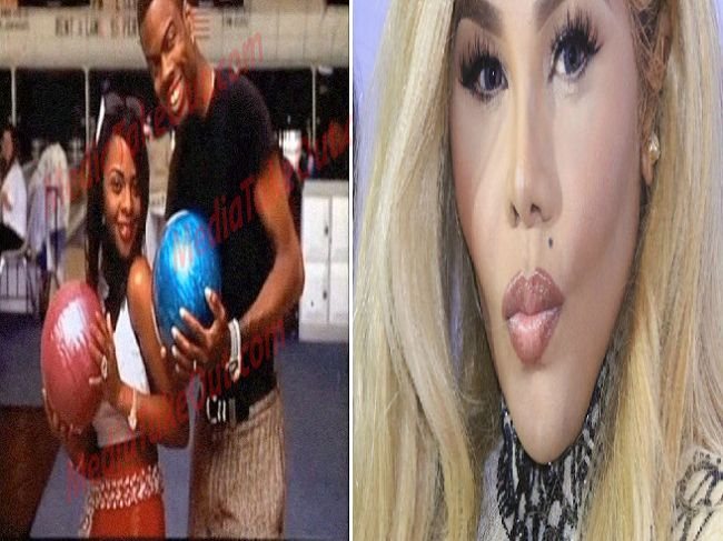 Rapper Lil Kim gets another skin bleaching procedure, she no longer look black! (See Photos)