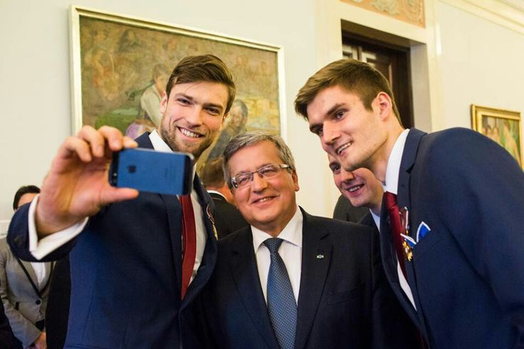 Selfie with President of Poland ;)