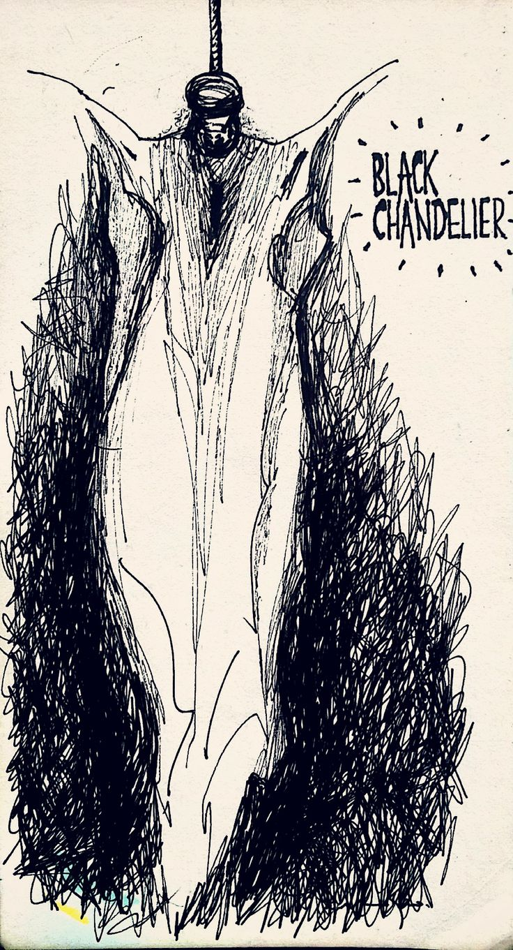 Al Art Black Chandelier Biffy Clyro Work Pinterest