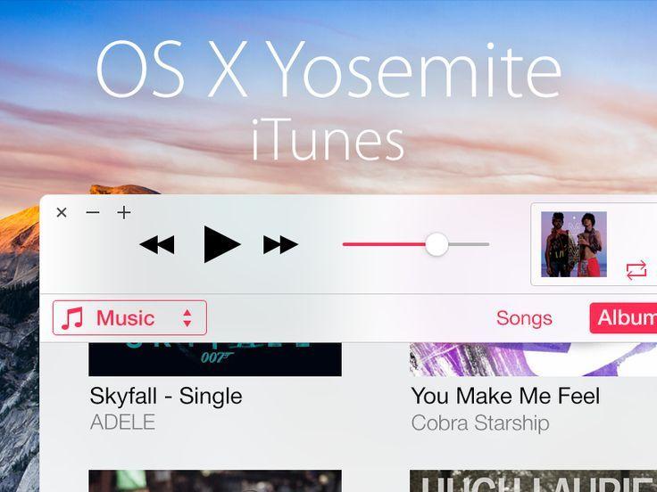 Mac OS X Yosemite: iTunes