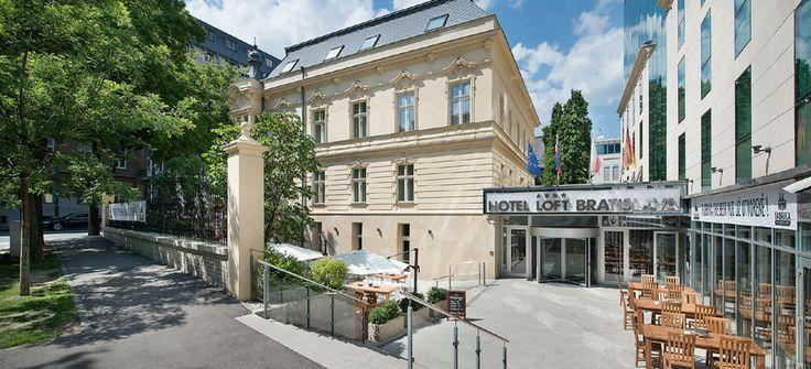 Train to Hotel LOFT Bratislava for one night. 21st July 2015.