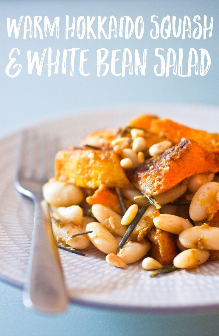 Salade Tiède de Potimarron et Haricots Blancs I write this from a café where I like to go and get …