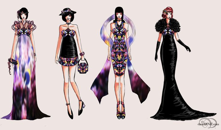 mosaics daughters. by *danydiniz on deviantART