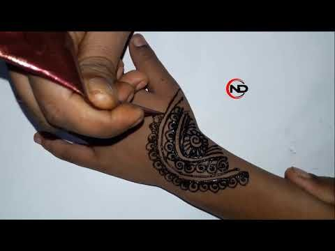 Mehndi Design For Kids || Henna Design For Kids || Simple Jewelry Mehndi Design  Watch Video: https://youtu.be/RzBkwVFvDQw