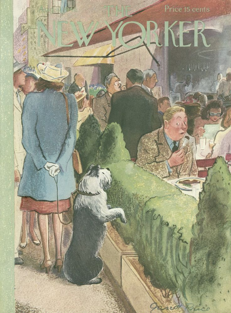 The New Yorker - Saturday, August 17, 1946 - Issue # 1122 - Vol. 22 - N° 27 - Cover by : Garrett Price