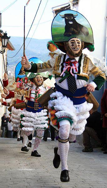 """""""Peliqueiros de Laza"""" Carnaval de Laza, Ourense (España)"""
