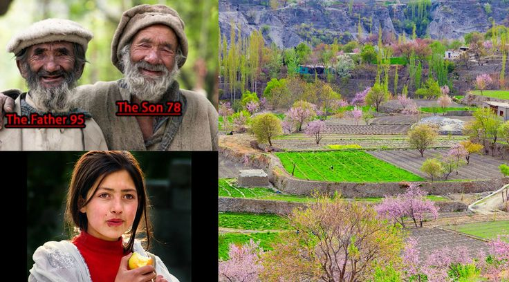 Pakistah • Hunza People • Cheerful, healthy and full of life, it seems as if the people of Hunza Valley belong to another planet. They eat fresh apricots, breathe the mountainous ai
