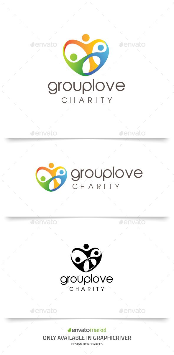 Group Love Logo, based on Group People concept, you can use this logo for any business, especially for Community Companies.  Featu
