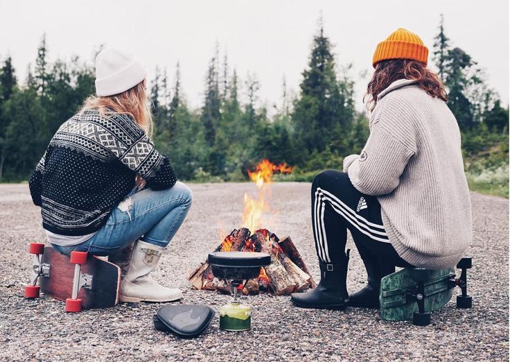 Camping in Lapland, eating by a Bonfire, Knits and Beanies. Merino Wool Beanies keep you comfortable in all temperatures, it is also stain and smell resistant! Shop here!