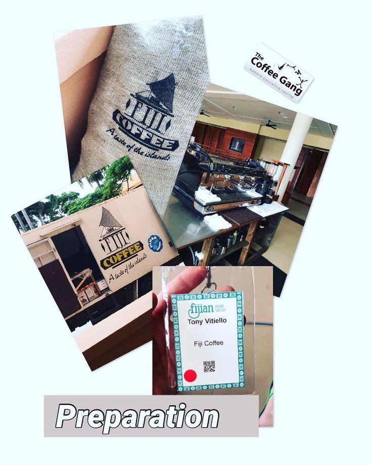 Preparation for tomorrow's tourism expo. It's going to be FUN! #thecoffeegang #thecoffeeganginfiji #training #expo #fiji #fijitourismexpo #fte2017 #fijicoffee #sheratonresortfiji #coffee #coffeeworld #coffeelover #goodtimes