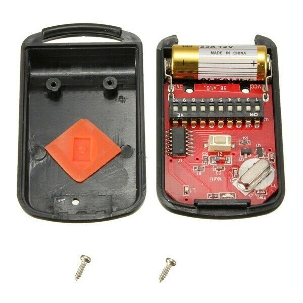 Replaces Multielmac 3089 Replaces Multi Code Model 1089 300mhz 10 Dip Switch Remotes Specification Power 12v Battery Case Mat Gate Remote Garage Gate Multi