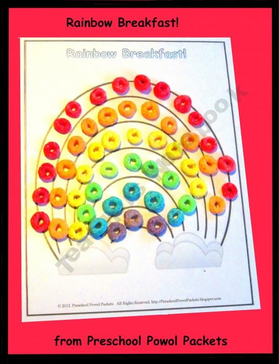 learning colors of the rainbow