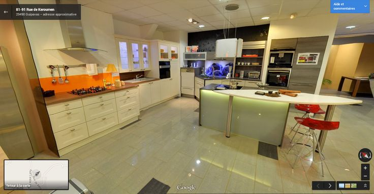 Visite virtuelle du magasin Camille Foll Cuisiniste http://www.air-media29.com/creation-360-google/exemples-visites.html