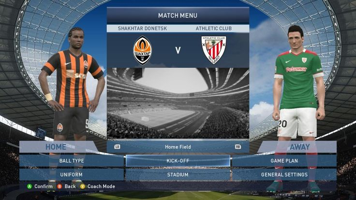 Shakhtar Donetsk VS Athletic Bilbao 4-1 All Goals & Highlights Champions League - Group H 26/11/2014 HD - Pro Evolution Soccer 2015  Thank you for watching :)  Sponsor: http://www.lotusnoss.com http://www.phahonyothin.com http://www.ratchayothin.com