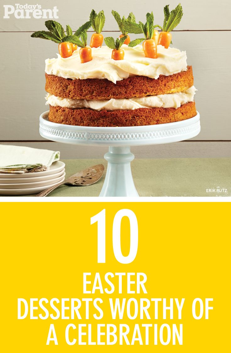Easter is a day of sweet treats, so why not cap it off with one of these delicious Easter recipes?