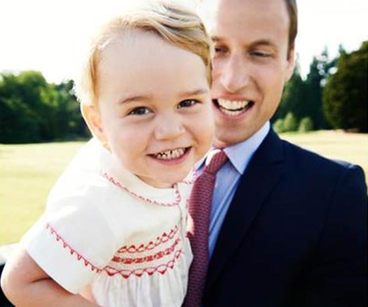 An official photo of the heir to the British monarchy, Prince George, has been released in honor of the youngster's second birthday today