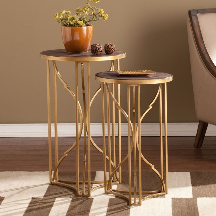 Harper Blvd Aiken Accent Table 2pc Set By Sofa End TablesLiving Room