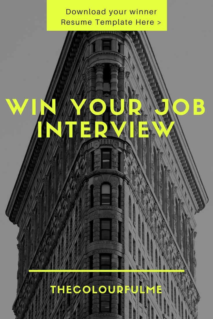 Win Your Job Interview Download your winner